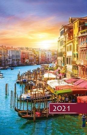 Terminarz 2021 Standard B6 Wenecja