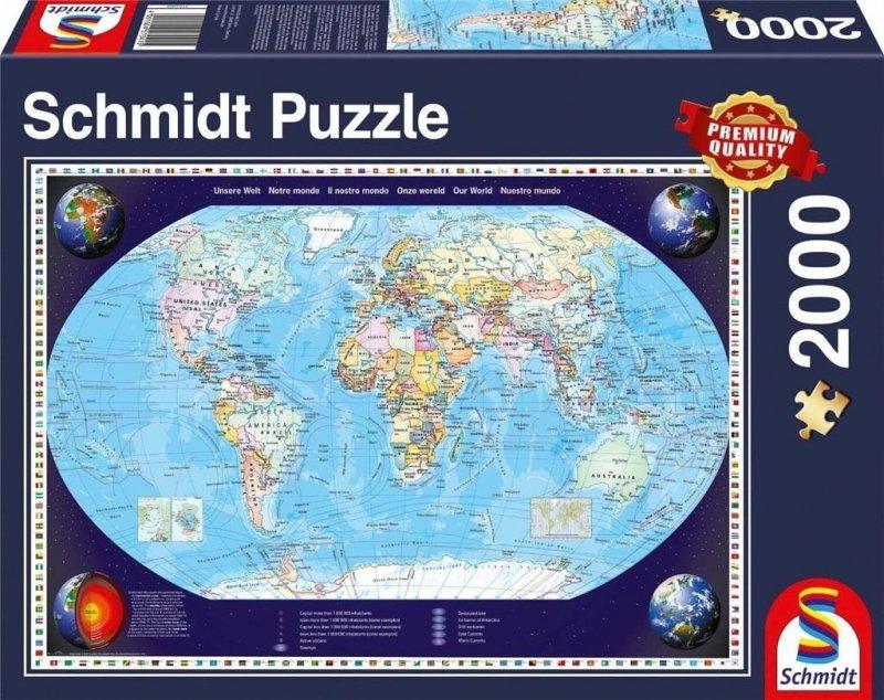 Puzzle PQ 2000 Nasz świat G3