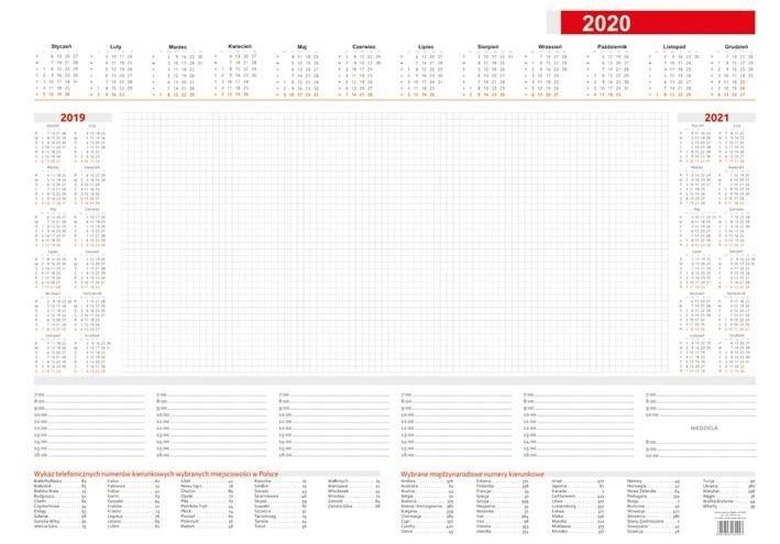 Kalendarz 2021 Biuwar B3 Mały (30kart)