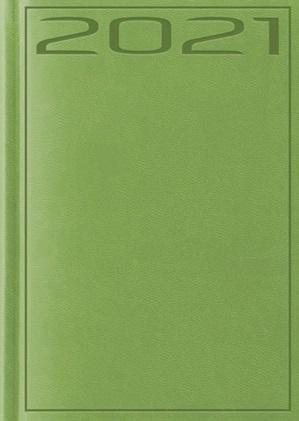 Terminarz 2021 B7 Print zielony