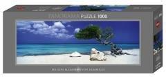 Puzzle 1000 Curacao - Drzewo Divi Divi
