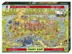 Puzzle 1000 Funky Zoo - Australia