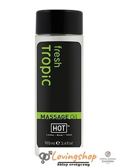 Olejek-HOT MASSAGEOEL tropic - fresh 100 ml