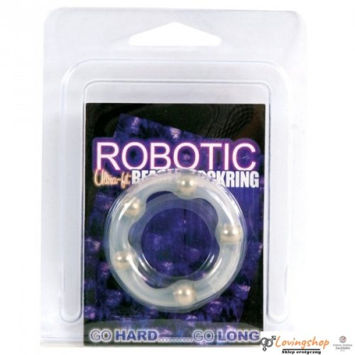 Pierścień-ROBOTIC BEADED COCKRING