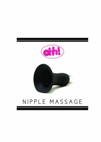 Stymulator-Niple massage Black