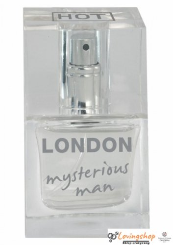 Feromony-HOT PHEROMON PARFUM LONDON MAN 30ML