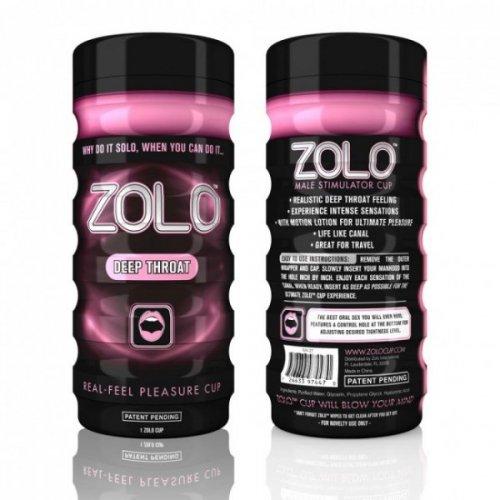 Masturbator-Zolo Deep Throat