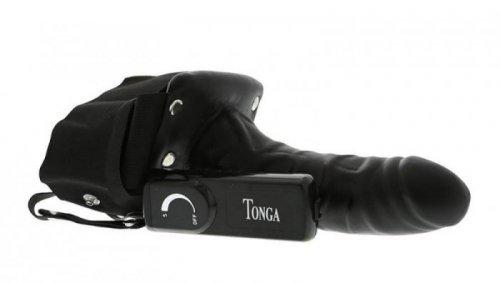 Proteza-ROBOTIC MALE STRAP-ON BLACK