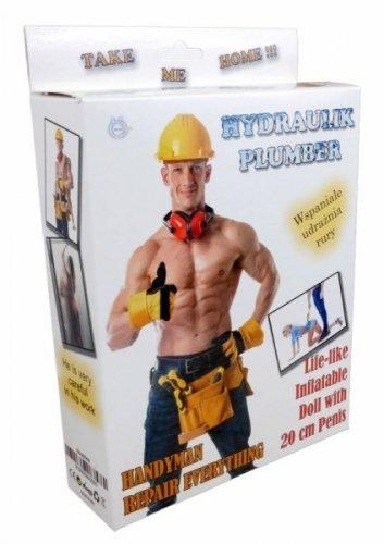 Lalka- Hydraulik - Plumber Male Doll