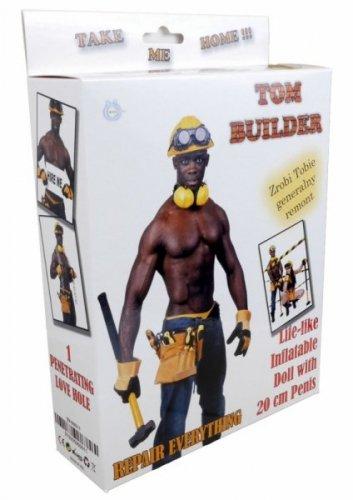 Lalka- Tom - Builder Male Doll