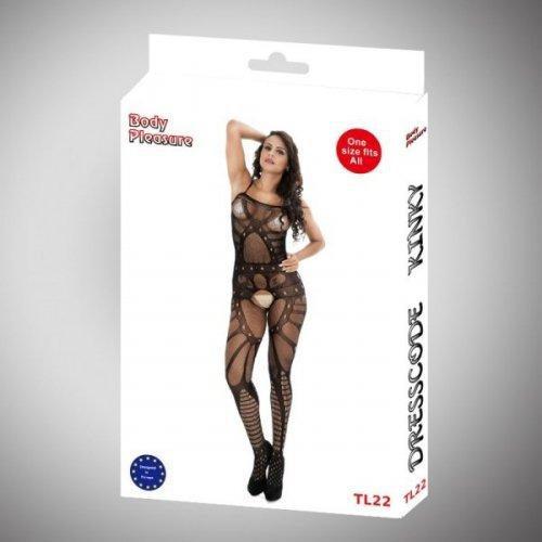 Body Pleasure - Sexy Lingerie Set - one size - black TL22