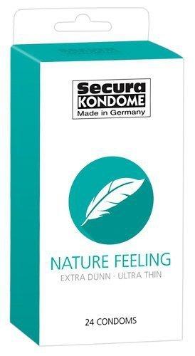 Prezerwatywy Nature Feeling bardzo cienkie 24 szt. Secura