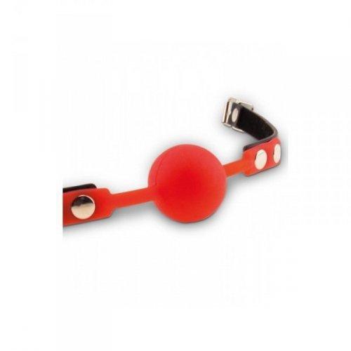 Fetish dreams silicone ball gag red