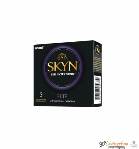Unimil SKYN Elite 3 szt.
