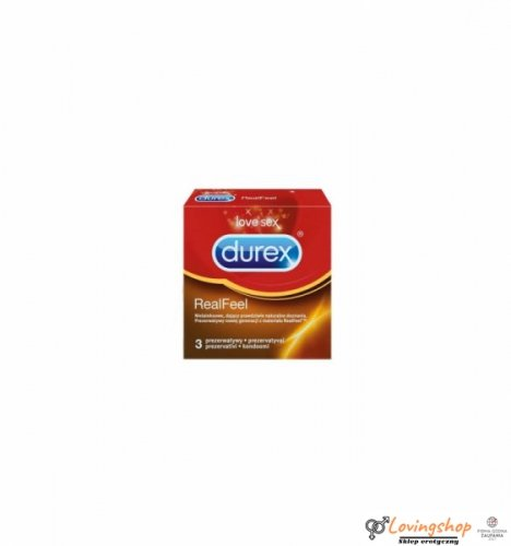 Prezerwatywy Durex Real Feel A3 nielateksowe