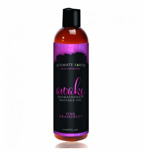 Intimate Earth - Awake Aromatherapy Massage Oil 120 ml