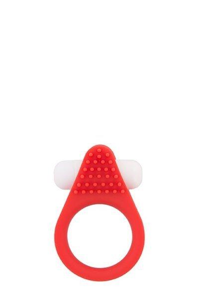Pierścień-LIT-UP SILICONE STIMU RING 1 RED