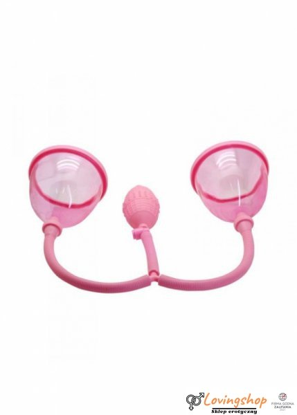"Pompka-4.5"""""""" DUAL BREAST SUCTION CUPS."