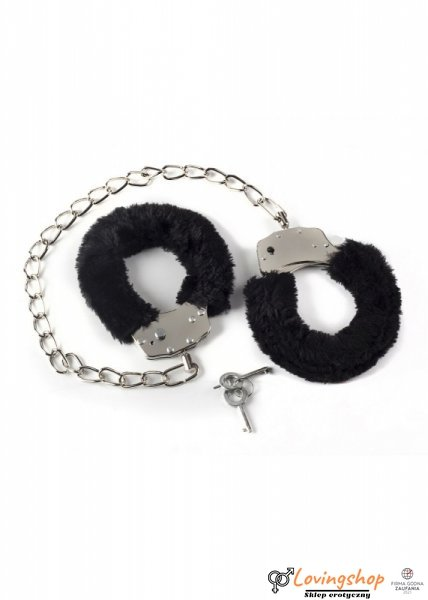 Kajdanki-Ankle cuffs BONDAGE black