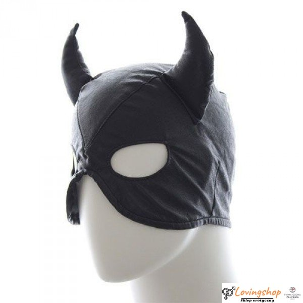 Maska-Devil Mask BLACK