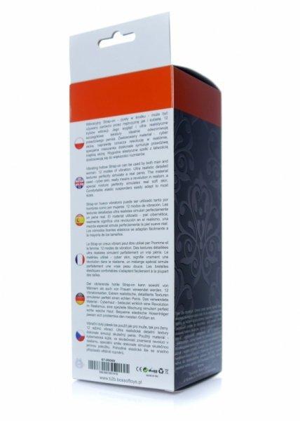 Proteza-Vibrating Hollow Strap-on - Cyber Skin