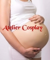 Sztuczny brzuch ciążowy - Silikon Pregnancy (8-9 miesiąc ciąży)