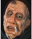 Maska lateksowa - Staruszek z petem