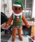 Strój chodzącej maskotki - Świąteczny Pierniczek V