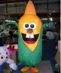 Strój reklamowy - Kukurydza