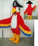 Strój reklamowy - Papuga Pirat