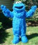 Strój reklamowy - Big Blue