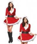 Kostium świąteczny - Miss Santa