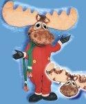Chodząca maskotka - Renifer Rudolf Wielki