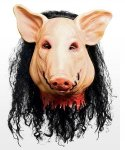 Maska lateksowa - The Saw Pig