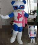 Strój chodzącej maskotki - Miś Super-Panda