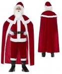 Kompletny strój Świętego Mikołaja - Św. Mikołaj Deluxe