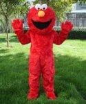 Strój reklamowy - Ulica Sezamkowa Elmo