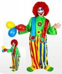 Profesjonalny strój klauna - Klaun Dowcipniś