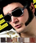 Naturalne bokobrody - Elvis