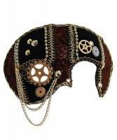 Maska wenecka - Steampunk Colombina I