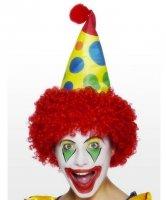Akcesoria klauna - Czapka z peruką