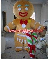Chodząca maskotka - Świąteczny Pierniczek z Lizakiem