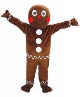 Chodząca maskotka - Bożonarodzeniowy Pierniczek