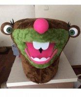 Głowa chodzącej maskotki - Leniwiec
