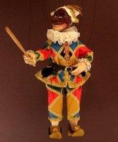 Marionetka wenecka - Harlequin (70 cm)