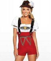 Seksowny kostium - Heidi z Tyrolu
