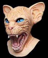 Maska lateksowa - Kot Deluxe 2