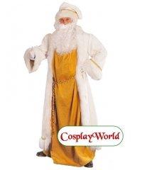 Profesjonalny strój Świętego Mikołaja - Santa Claus in White