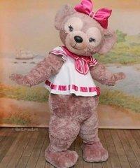 Strój chodzącej maskotki - Miś Teddy Girl