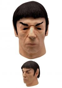 Maska lateksowa - Star Trek Spock 1975